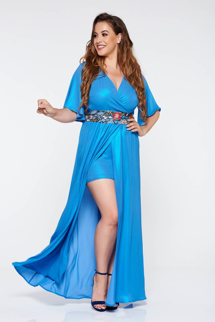 rochie-starshiners-albastra-eleganta-lunga-cu-mane-S037118-1-360115